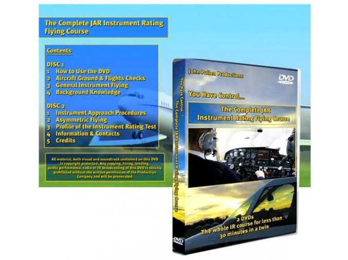 Complete JAR Instrument Rating Flying Course