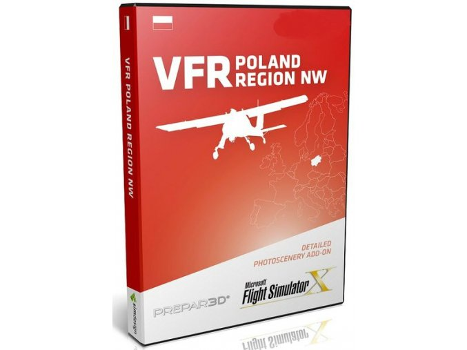 VFR POLAND NW COMPLETE EDITION (FSX and P3D)